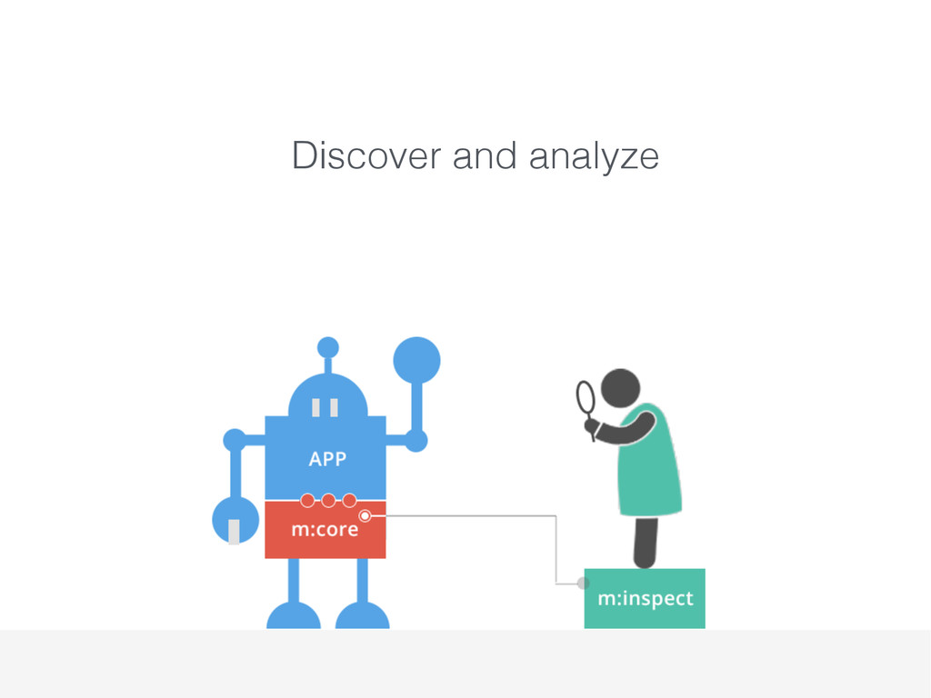 Discover and analyze