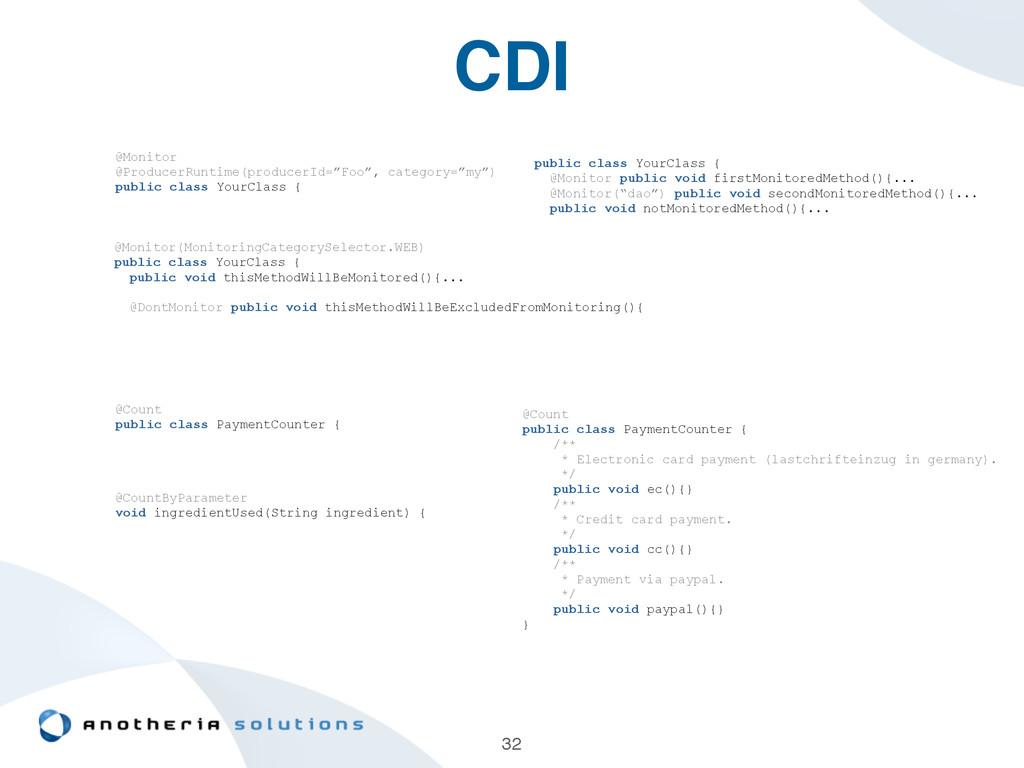 "CDI 32 @Monitor @ProducerRuntime(producerId=""Fo..."