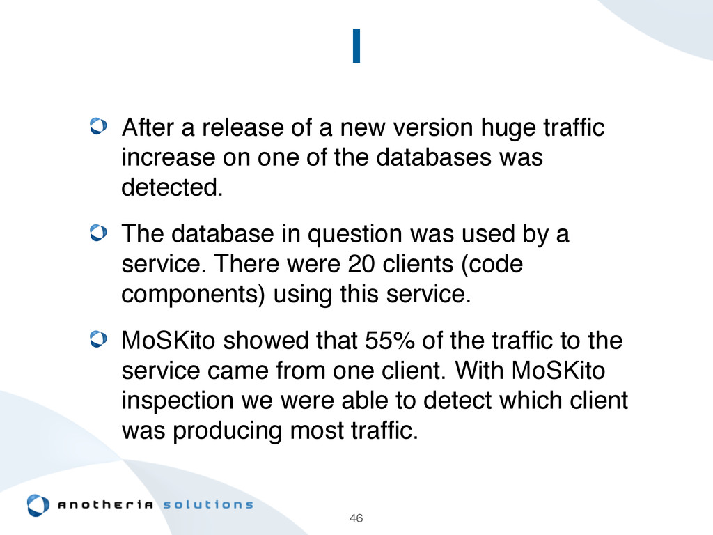 I After a release of a new version huge traffic ...