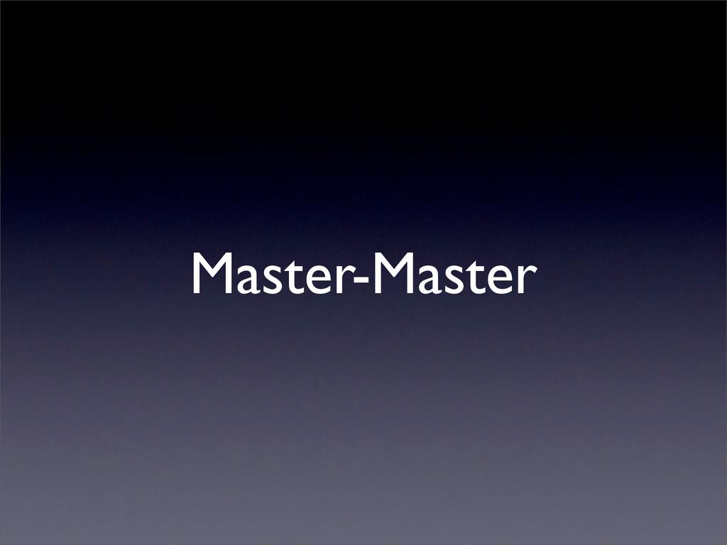 Master-Master