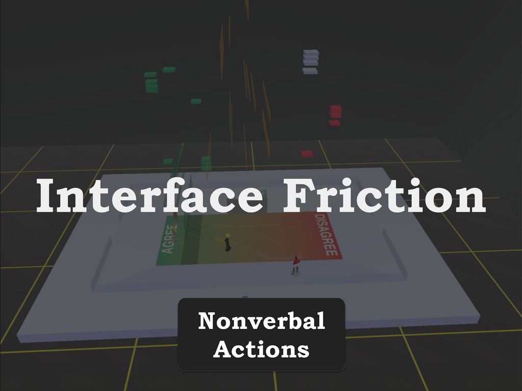Interface Friction Nonverbal Actions