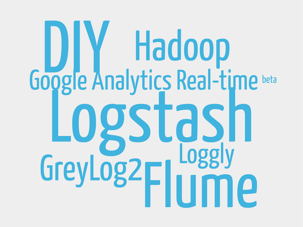 Logstash GreyLog2 DIY Google Analytics Real-tim...