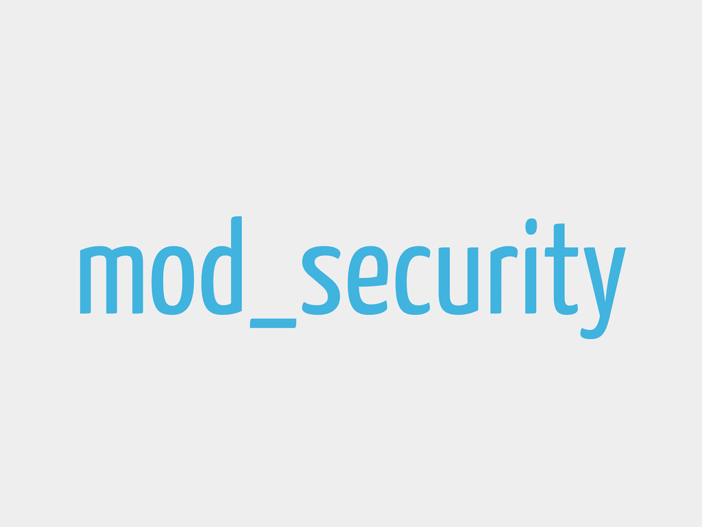 mod_security