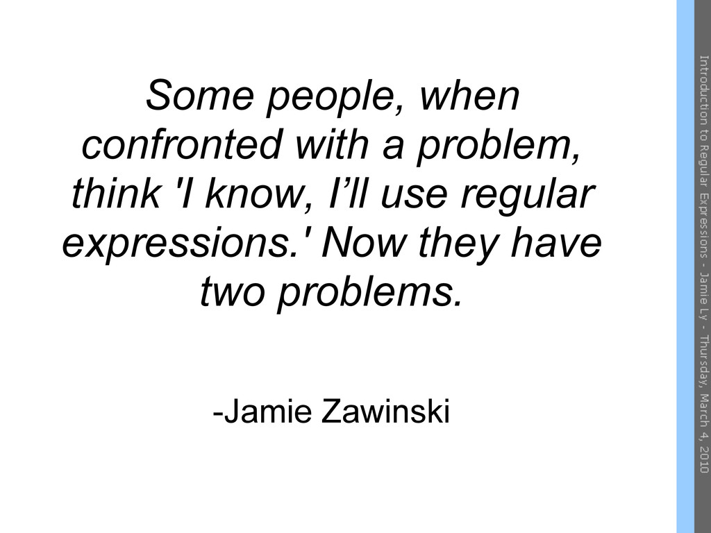 Some people, when confronted with a problem, th...