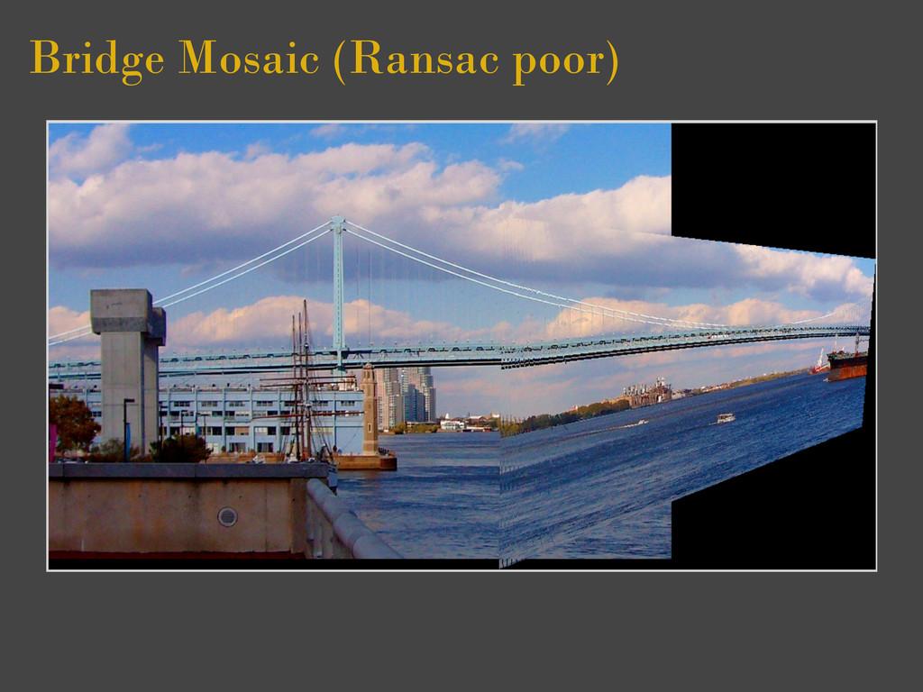 Bridge Mosaic (Ransac poor)