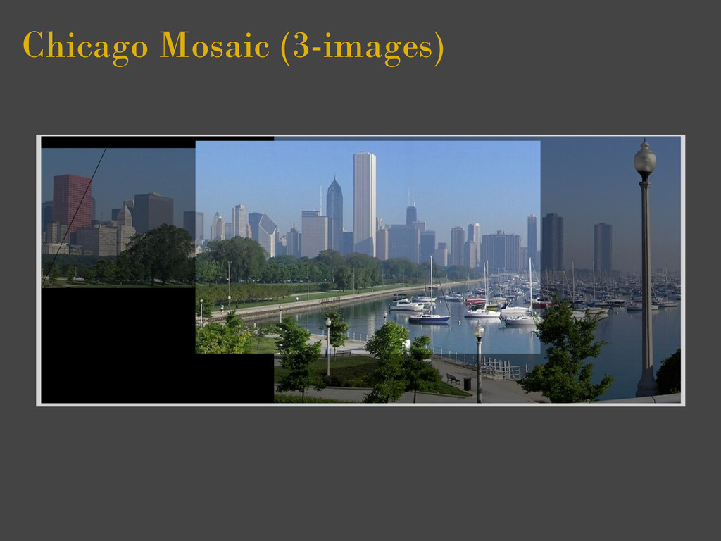 Chicago Mosaic (3-images)