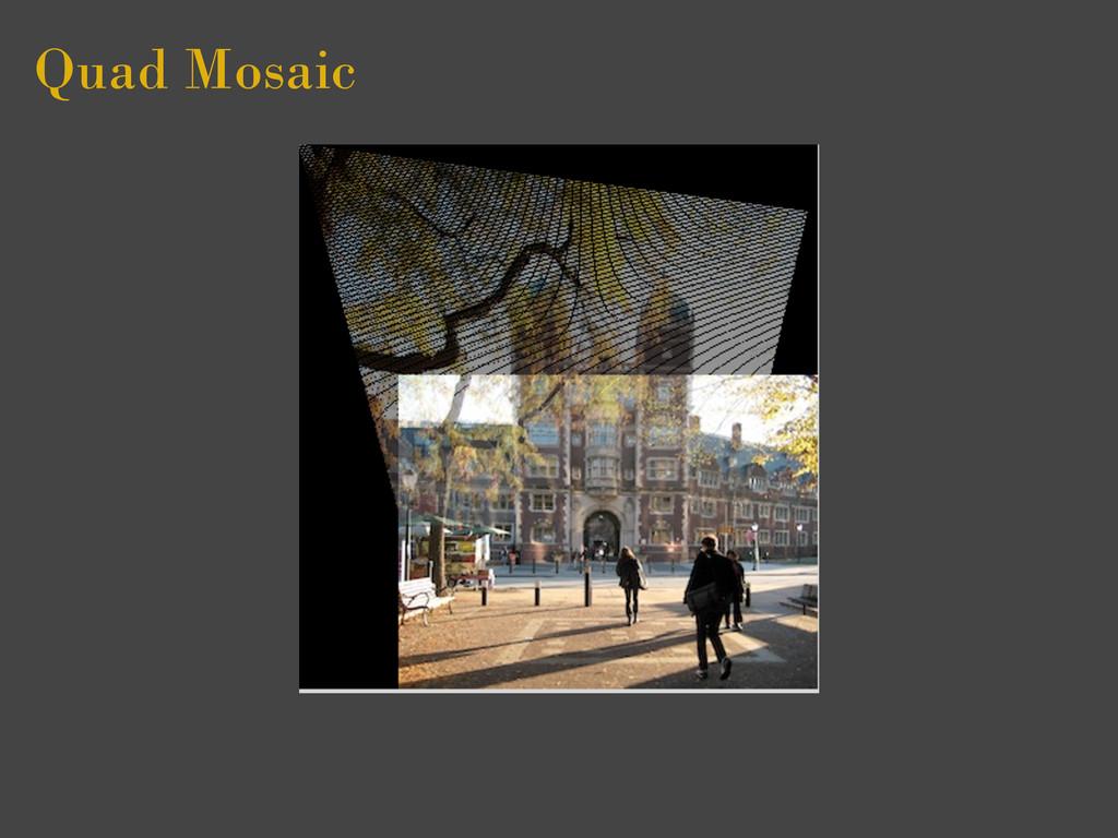Quad Mosaic