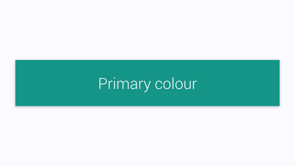 Primary colour