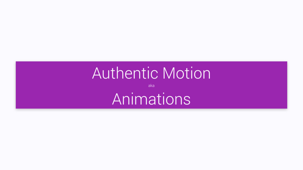 Authentic Motion aka Animations