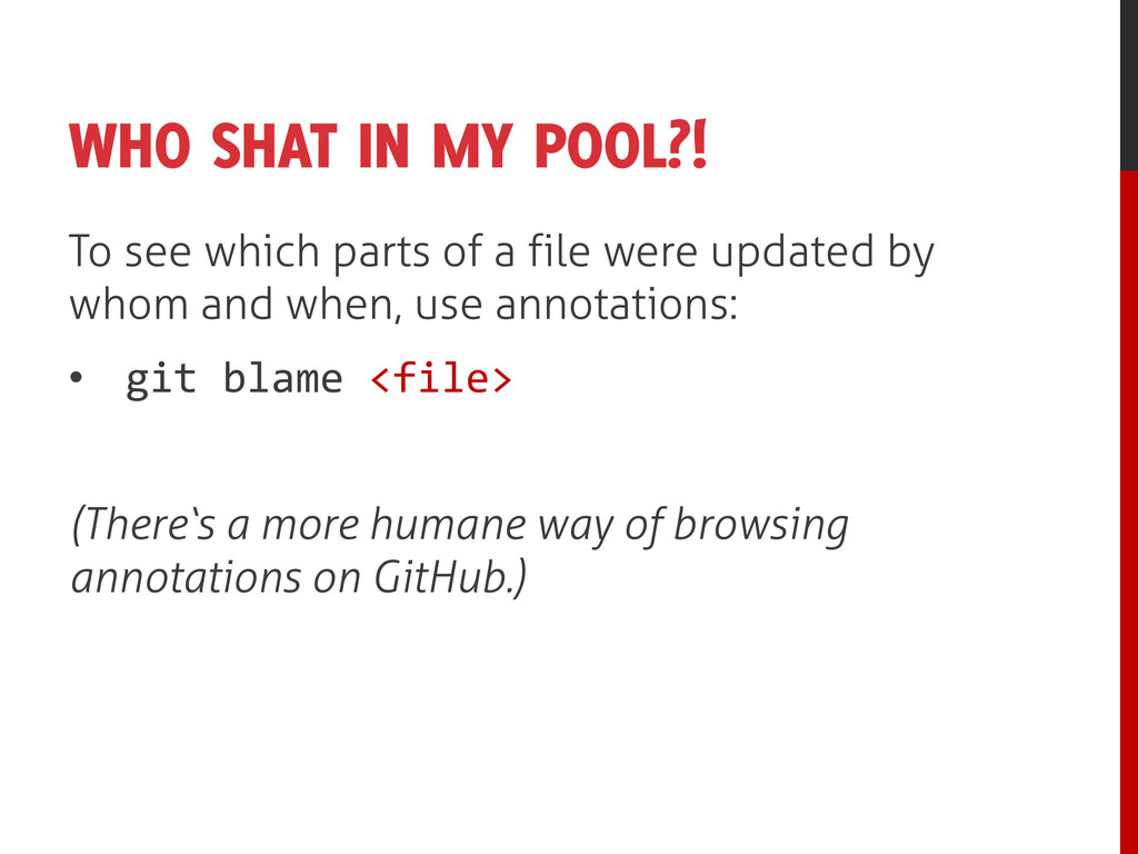 WHO SHAT IN MY POOL?! To see which parts of a f...