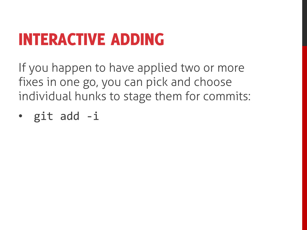 INTERACTIVE ADDING If you happen to have applie...