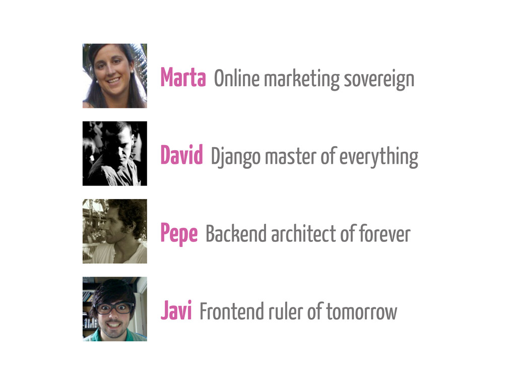 Marta Online marketing sovereign David Django m...