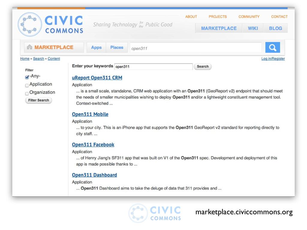 marketplace.civiccommons.org