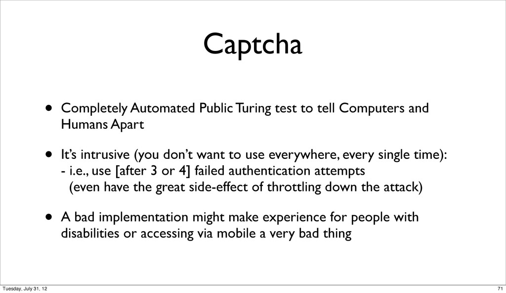Captcha • Completely Automated Public Turing te...