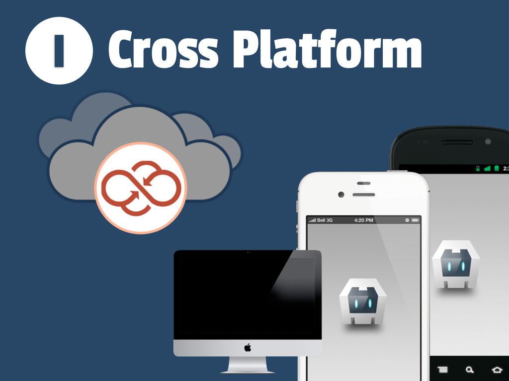 1 Cross Platform