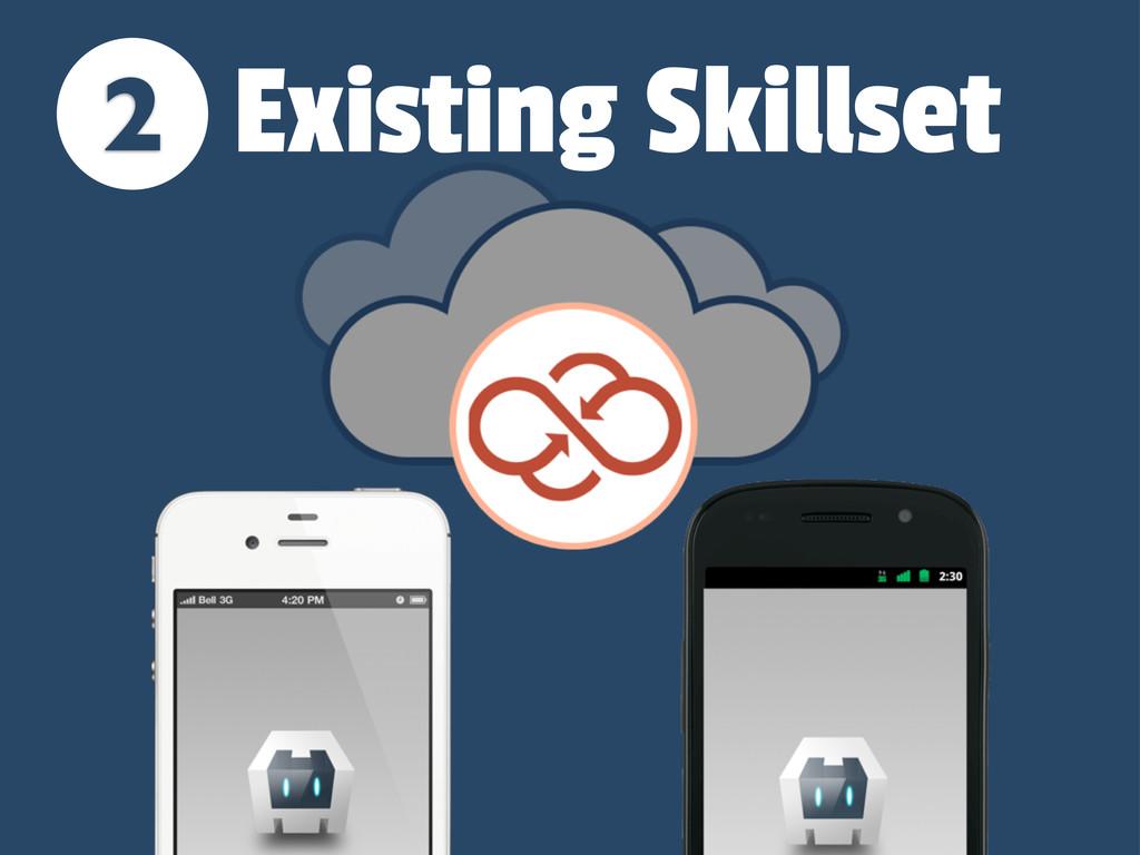 2 Existing Skillset