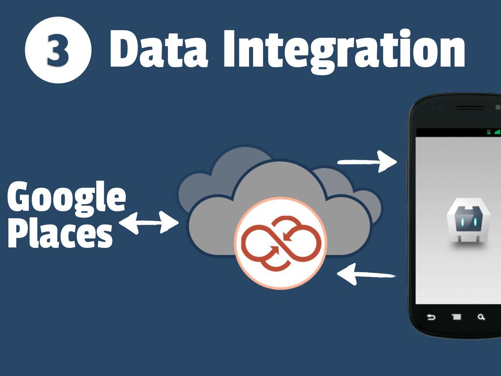 3 Google Places Data Integration