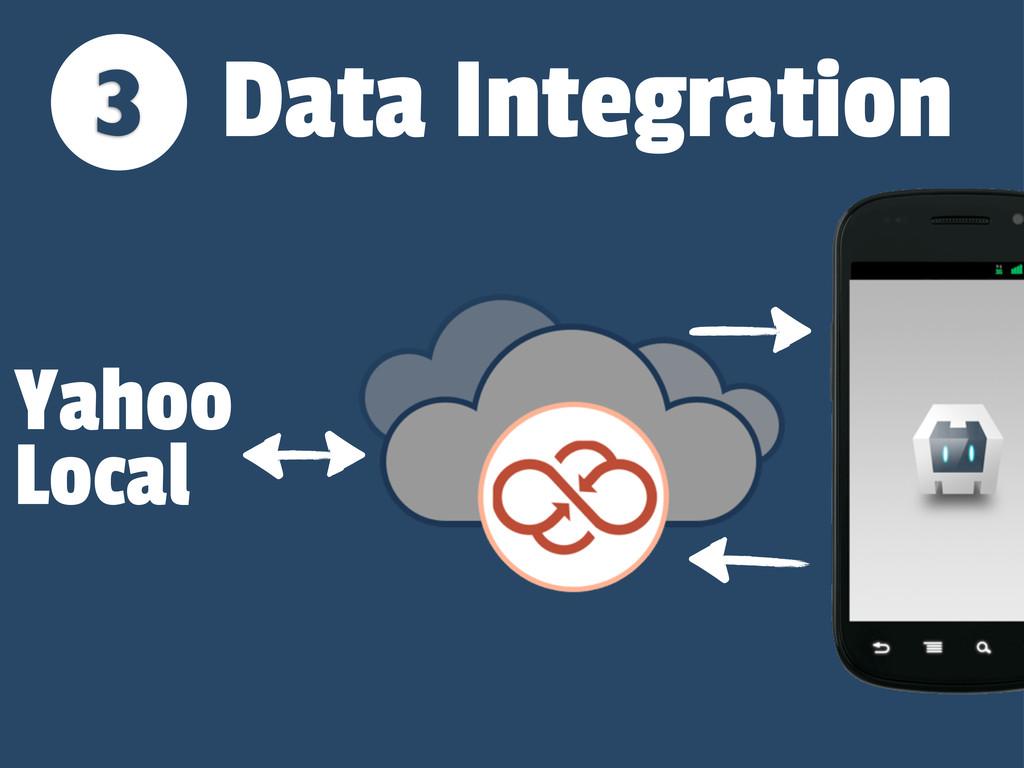 3 Yahoo Local Data Integration