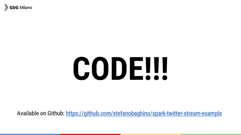 CODE!!! Available on Github: https://github.co...