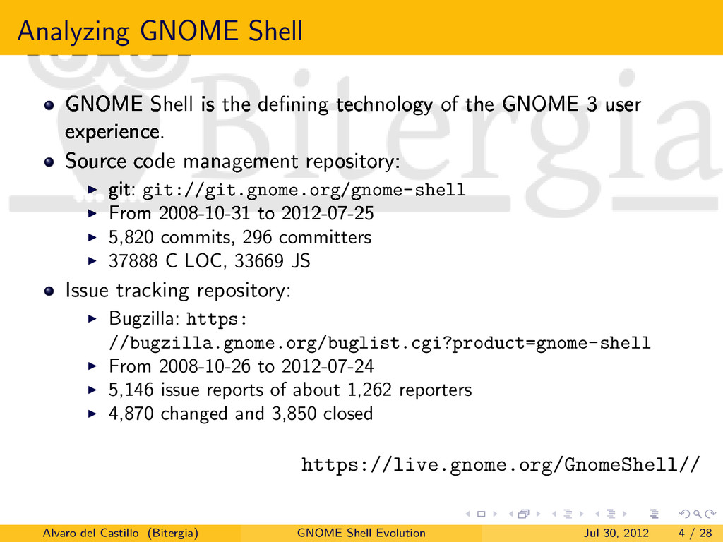 Analyzing GNOME Shell GNOME Shell is the definin...