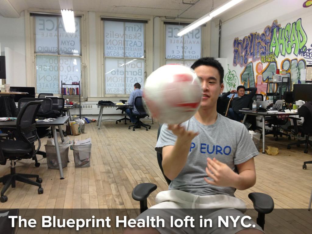 The Blueprint Health loft in NYC.