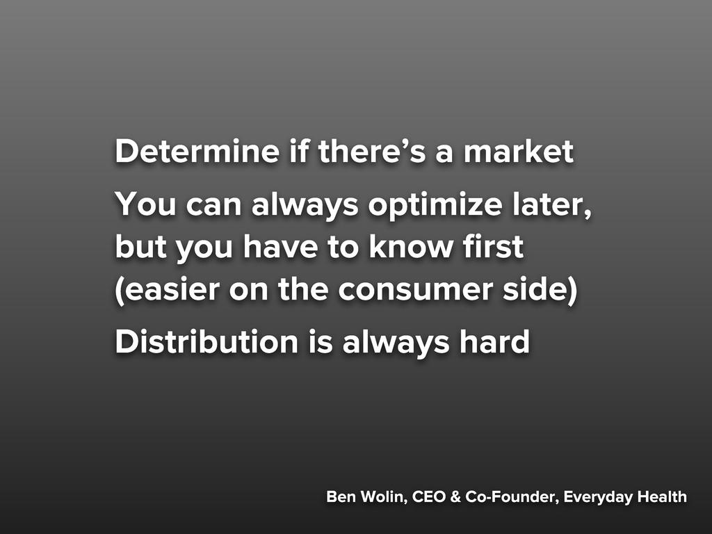 Ben Wolin, CEO & Co-Founder, Everyday Health De...