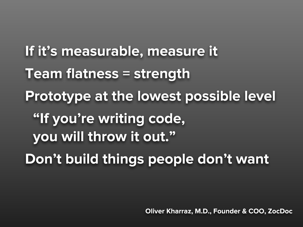 Oliver Kharraz, M.D., Founder & COO, ZocDoc If ...