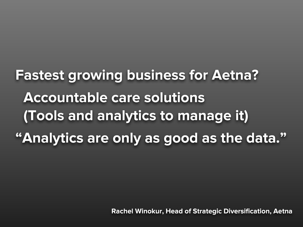 Rachel Winokur, Head of Strategic Diversificatio...