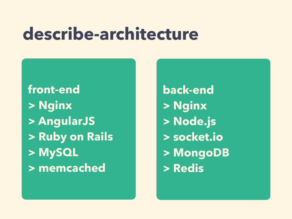 describe-architecture front-end > Nginx > Angul...