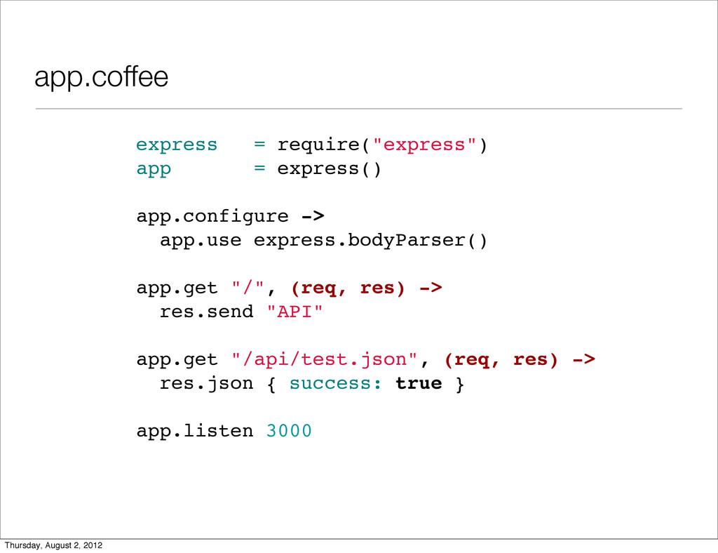 """app.coffee express = require(""""express"""") app = e..."""
