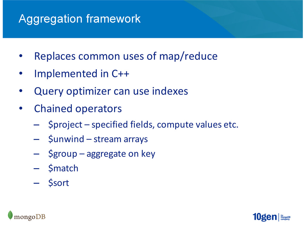 Replaces(common(uses(of(map/reduce Implemented(...