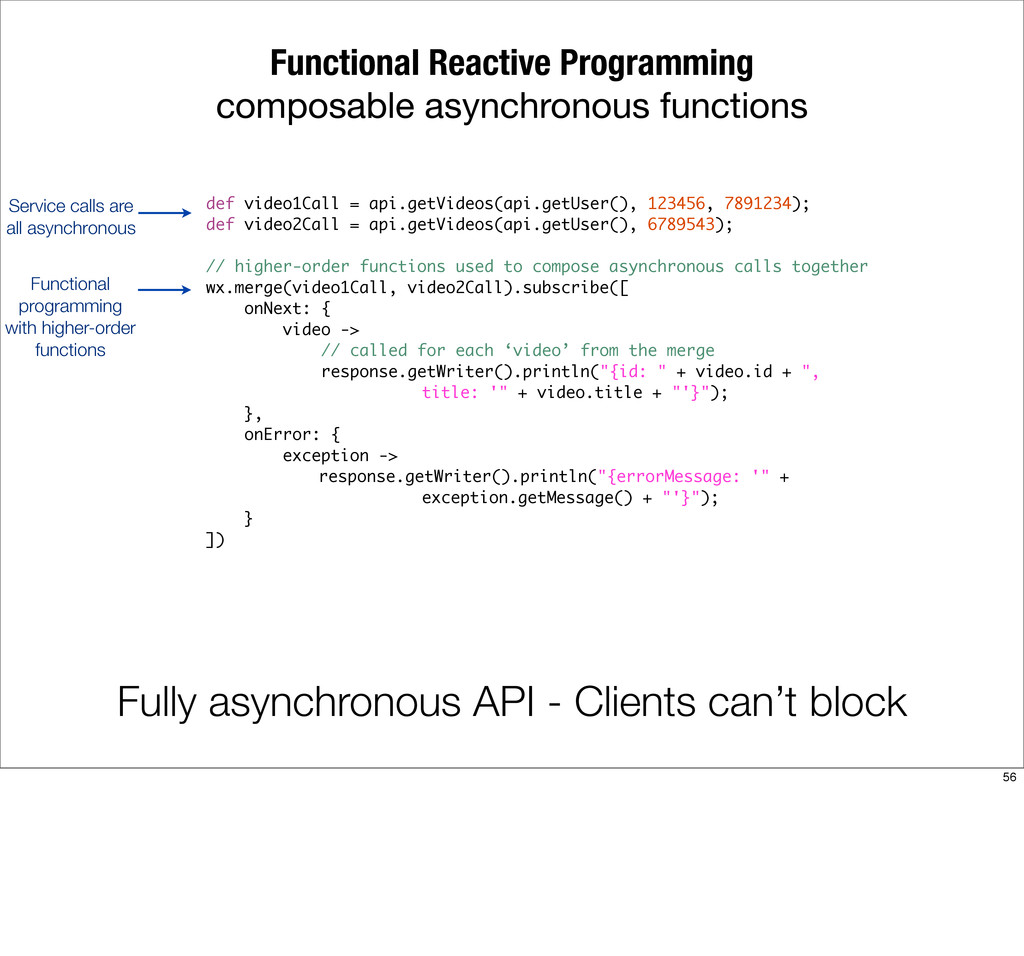 Functional Reactive Programming composable asyn...