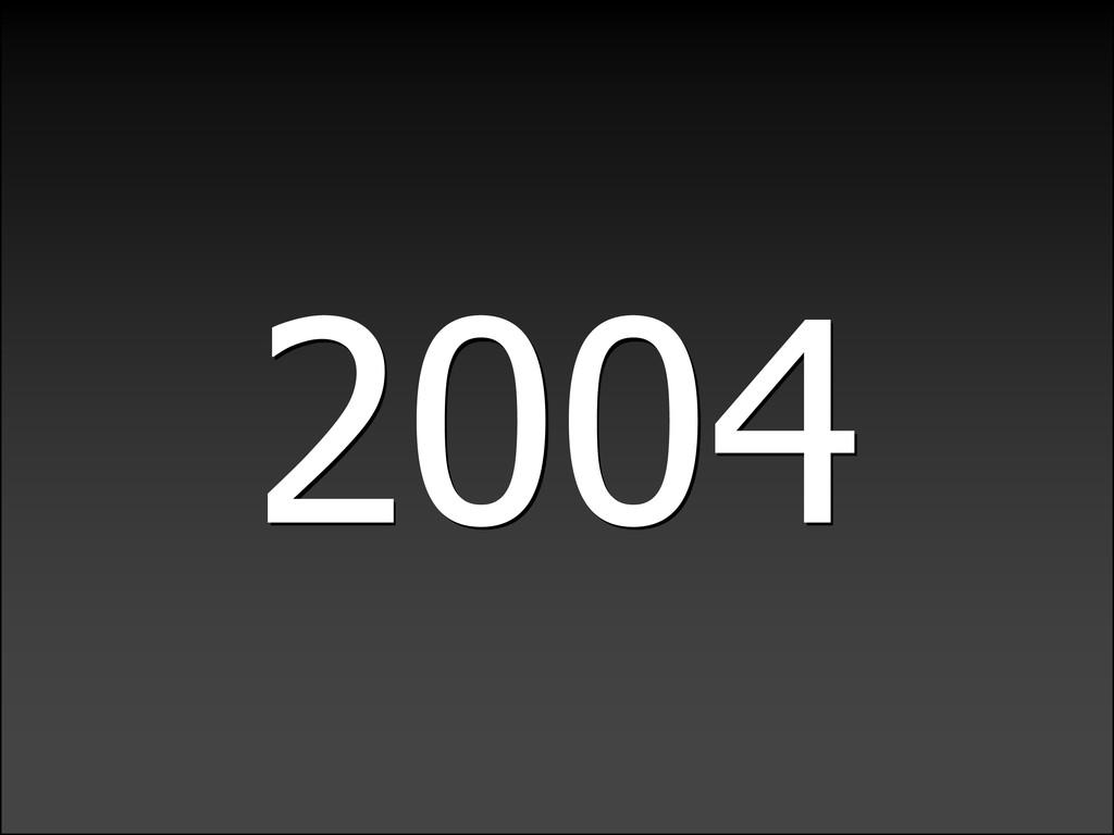 LIGHTWEIGHTLANGUAGEDECADE 2004