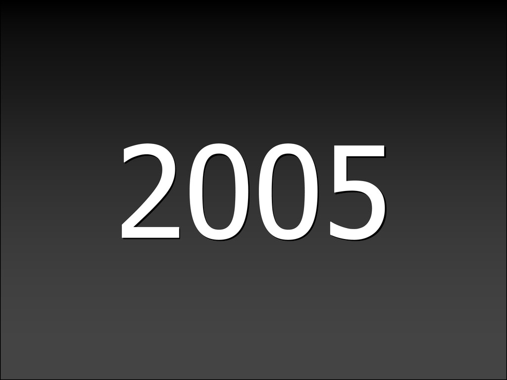 LIGHTWEIGHTLANGUAGEDECADE 2005