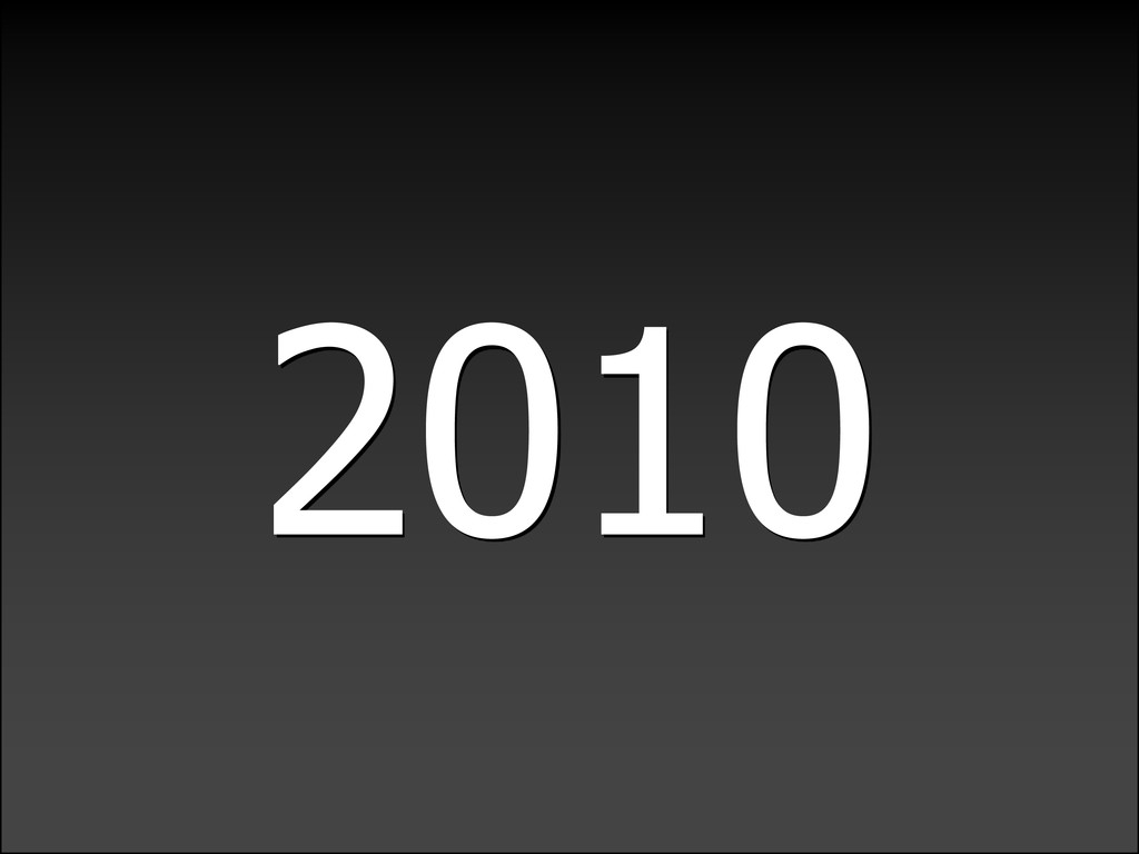 LIGHTWEIGHTLANGUAGEDECADE 2010