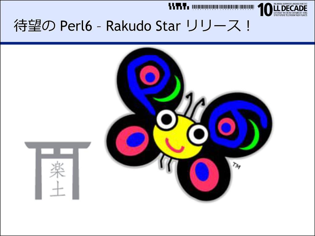 LIGHTWEIGHTLANGUAGEDECADE 待望の Perl6 – Rakudo St...