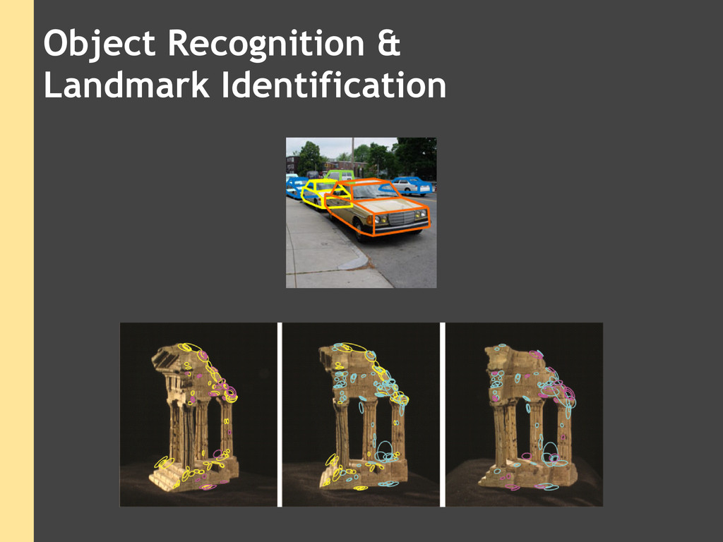 Object Recognition & Landmark Identification