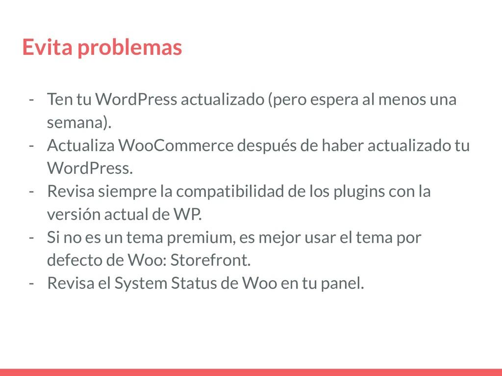 Evita problemas - Ten tu WordPress actualizado ...