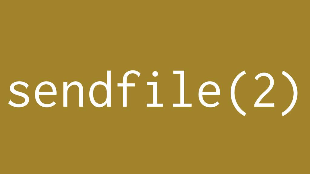 sendfile(2)