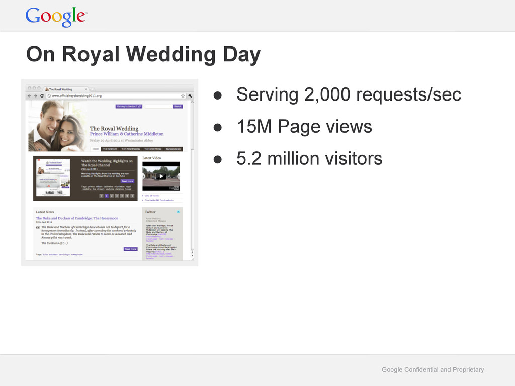 Google Confidential and Proprietary On Royal We...
