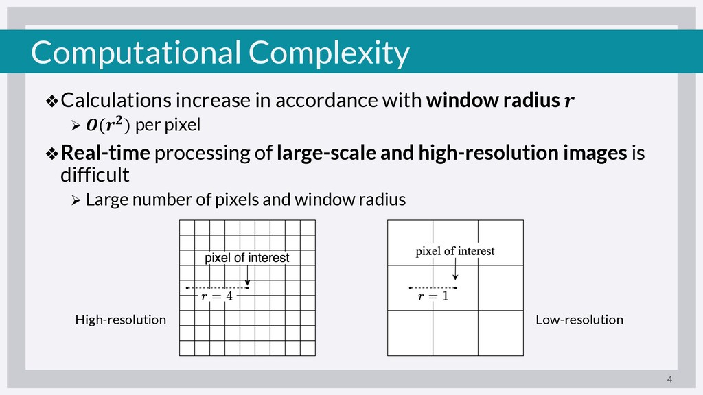 Computational Complexity ❖Calculations increase...