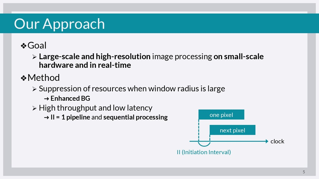 Our Approach ❖Goal Ø Large-scale and high-resol...