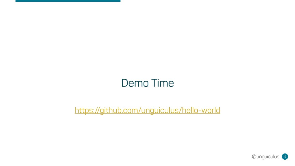 @unguiculus Demo Time 19 https://github.com/ung...