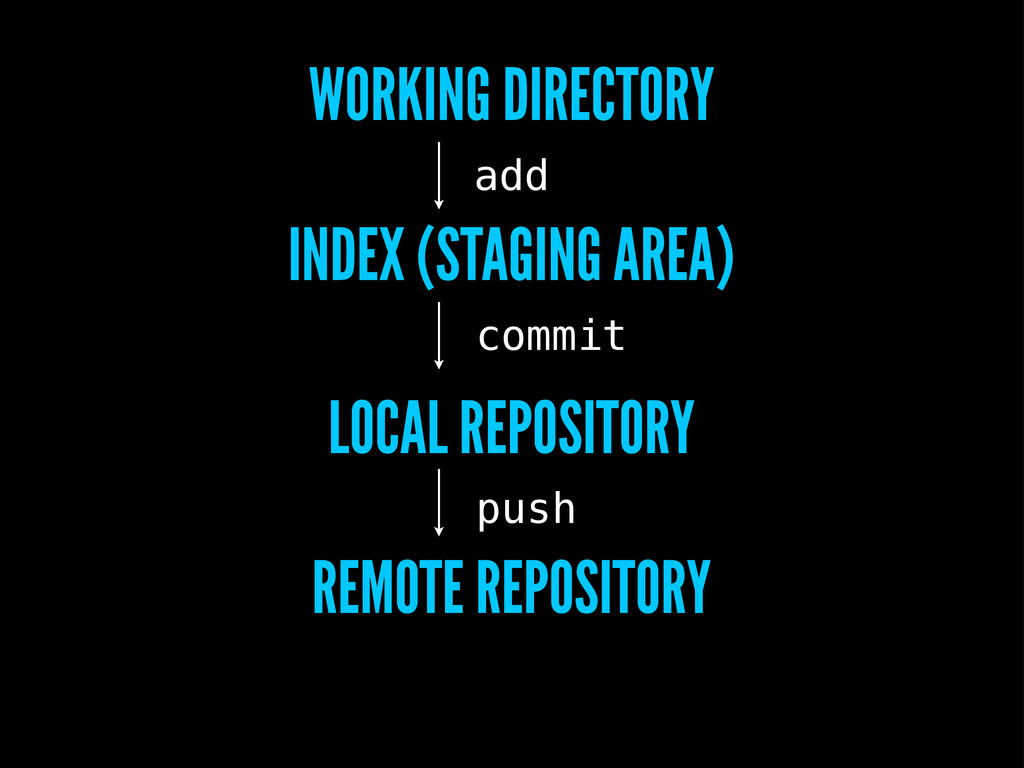 WORKING DIRECTORY INDEX (STAGING AREA) LOCAL RE...