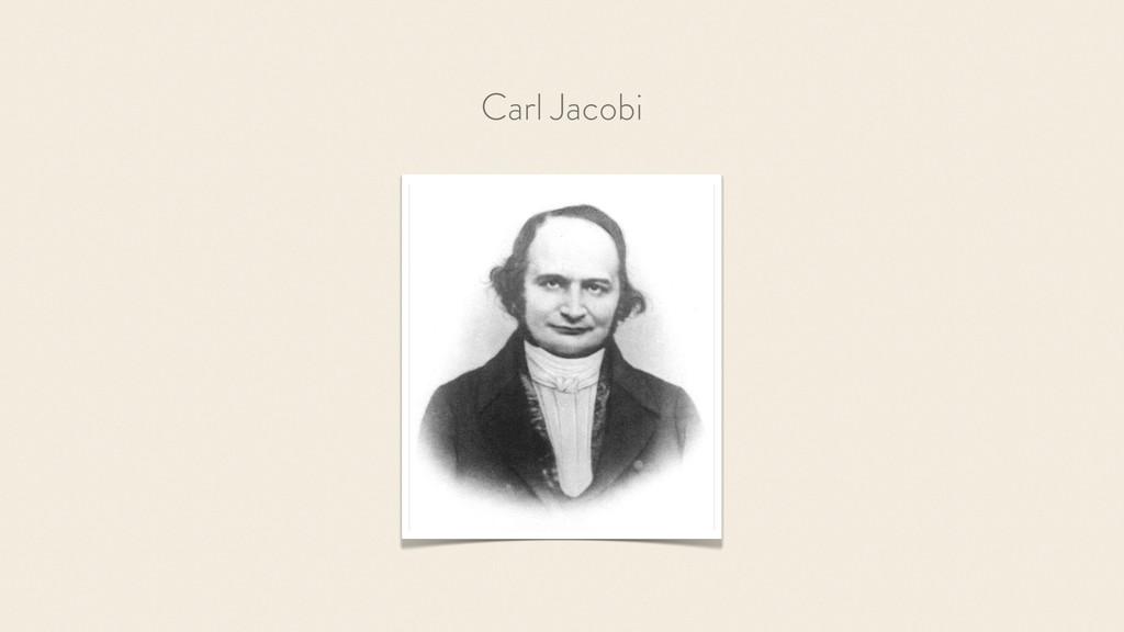 Carl Jacobi