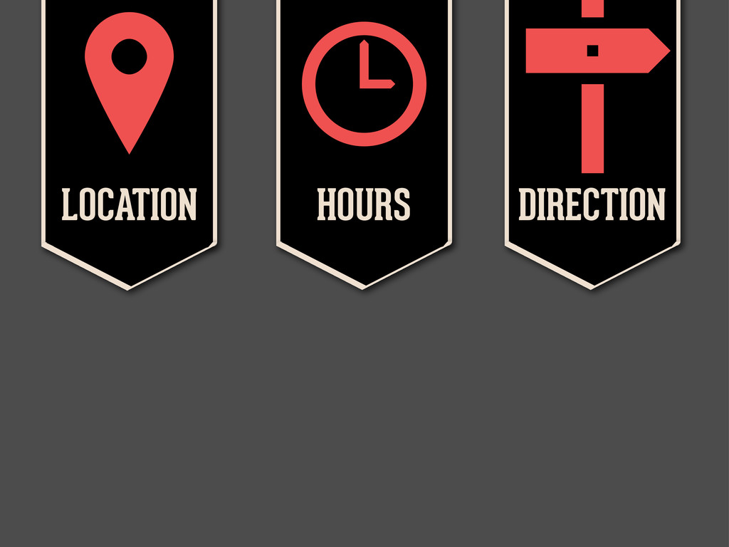 LOCATION  HOURS  DIRECTION 