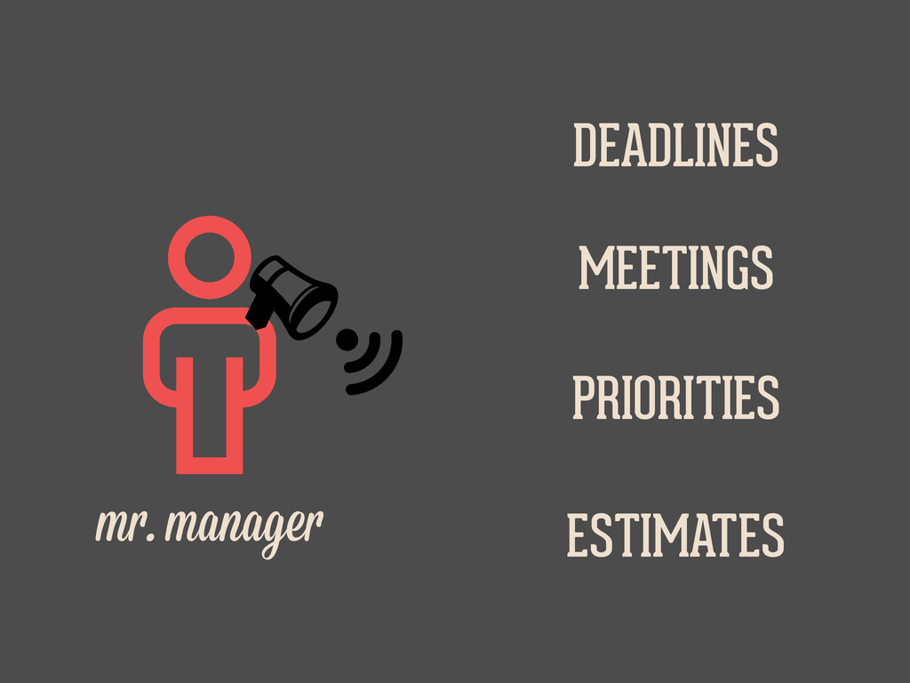    m . manage DEADLINES MEETINGS PRIORITIES ...