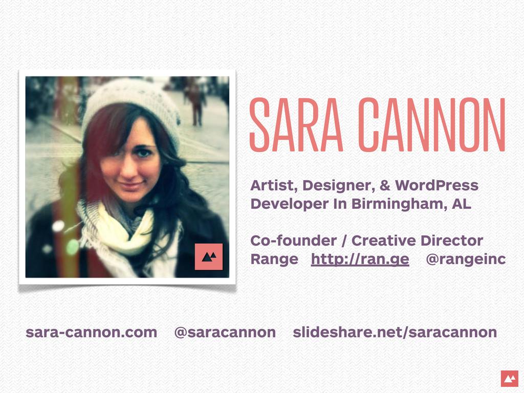 SARA CANNON Artist, Designer, & WordPress Devel...