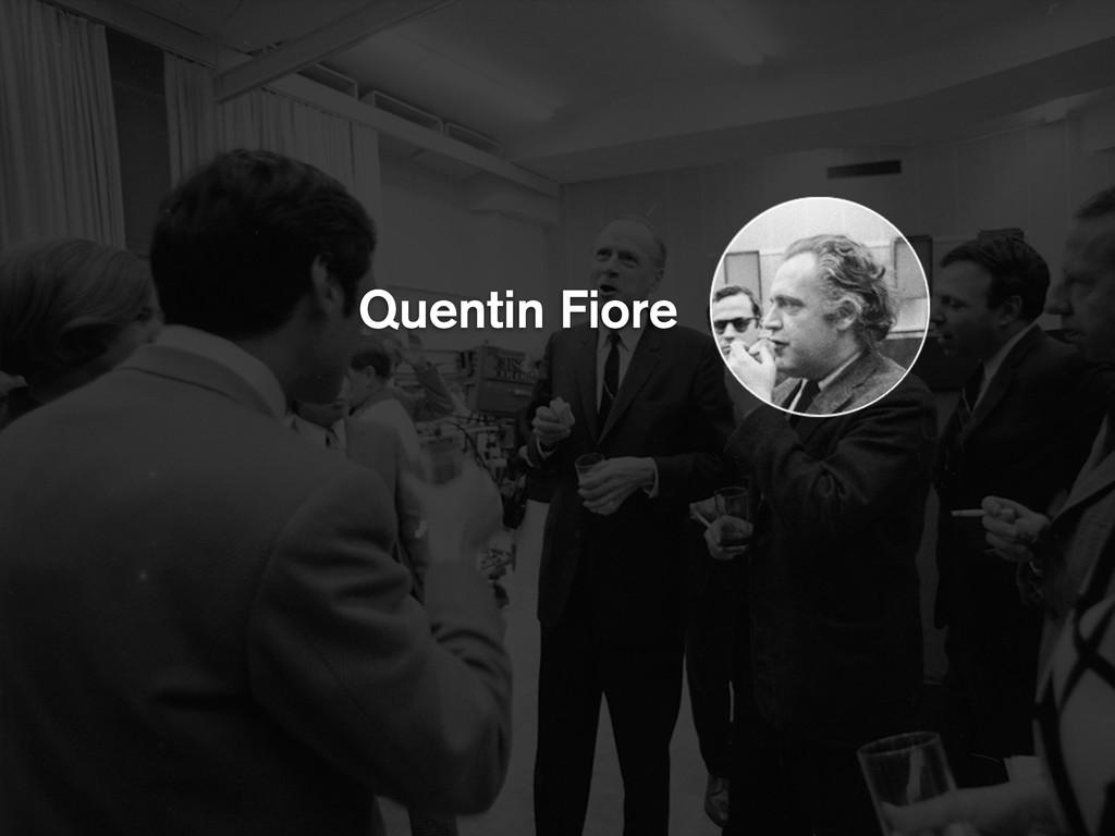 Quentin Fiore