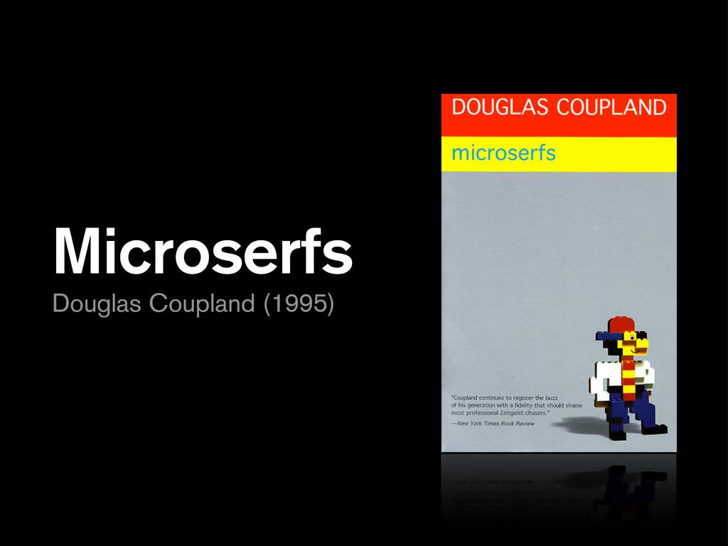 Microserfs Douglas Coupland (1995)